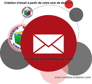 Création email Agence Medias Création Auxerre Yonne Bourgogne
